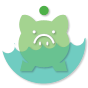 icon piggy bank